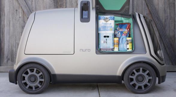 美 슈퍼마켓 체인, 자율주행차 이용 생필품 배달 시작
